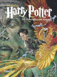 Omslagsbild: ISBN 9789188877864, Harry Potter och hemligheternas kammare