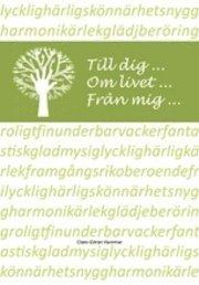 Till dig ... mm livet ... från mig ... pdf, epub
