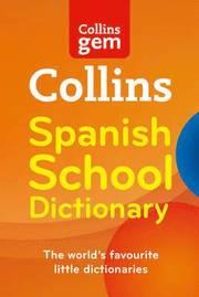 Collins GEM Spanish School Dictionary (häftad)