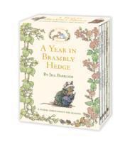 A Year in Brambly Hedge (inbunden)