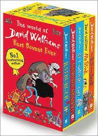 The World of David Walliams: Best Boxset Ever (h�ftad)
