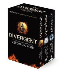 Divergent Trilogy boxed Set (h�ftad)