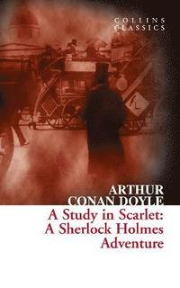 A Study in Scarlet (h�ftad)
