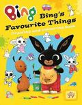 Bing: Bing's Favourite Things Drawing and Colouring Book