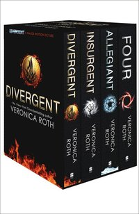 Divergent Series Box Set (Books 1-4 Plus World of Divergent) (häftad)