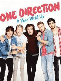 One Direction: A Year With Us (inbunden)