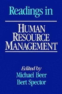 Readings in Human Resource Management (inbunden)
