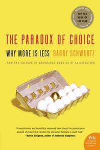 The Paradox of Choice (h�ftad)