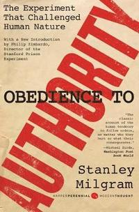 Obedience to Authority (h�ftad)
