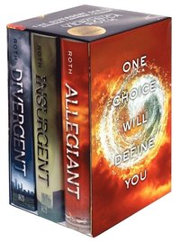 The Divergent Series Boxed Set: Divergent/Insrugent/Allegiant (h�ftad)