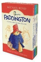 Paddington Classic Adventures Box Set: A Bear Called Paddington, More about Paddington, Paddington Helps Out