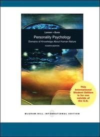 Personality Psychology: Domains of Knowledge About Human Nature (h�ftad)