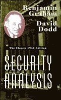 Security Analysis: The Classic 1934 Edition (h�ftad)
