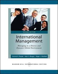 International Management: Managing in a Diverse and Dynamic Global Environment (h�ftad)