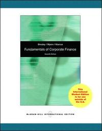 Fundamentals of Corporate Finance (h�ftad)