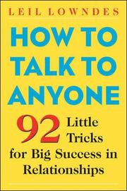 How to Talk to Anyone (h�ftad)