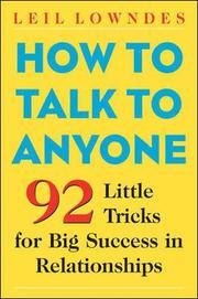 How to Talk to Anyone (h�ftad)