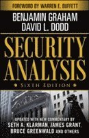 Security Analysis: Sixth Edition, Foreword by Warren Buffett (inbunden)