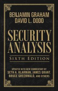 Security Analysis: Sixth Edition, Foreword by Warren Buffett (Limited Leatherbound Edition) (inbunden)