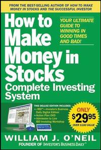 How to Make Money in Stocks Complete Investing System: Your Ultimate Guide to Winning in Good Times and Bad! [With DVD] (h�ftad)