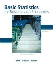 Basic statistics for business and economics (inbunden)