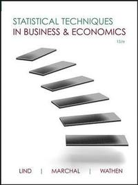 Statistical Techniques in Business and Economics (h�ftad)