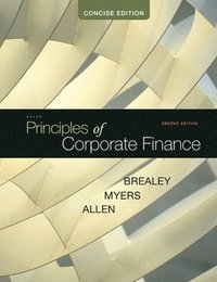 Principles of Corporate Finance, Concise (h�ftad)
