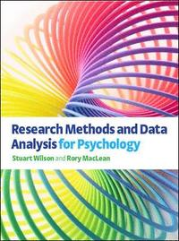 Research Methods and Data Analysis for Psychology (h�ftad)