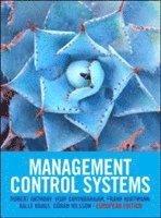 Management Control Systems: European Edition (h�ftad)
