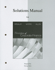Solutions Manual to Accompany Principles of Corporate Finance (h�ftad)