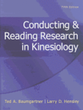 Conducting &; Reading Research in Kinesiology