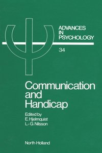 Communication and Handicap (inbunden)