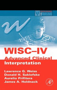 WISC-IV Advanced Clinical Interpretation (inbunden)