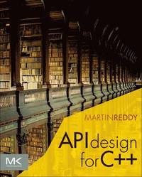 API Design for C++ (h�ftad)