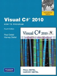 Visual C# 2010 How to Program 4th Edition Book/DVD Package
