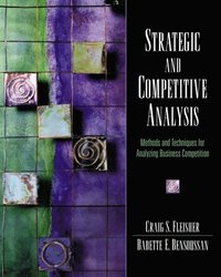 Strategic and Competitive Analysis (h�ftad)