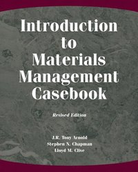 Introduction to Materials Management Casebook, Revised Edition (h�ftad)