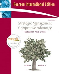 strategic management and competitive advantage barney pdf