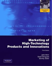 Marketing of High-Technology Products and Innovations (h�ftad)