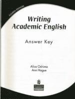 WRITING ACADEMIC ENGLISH ANSWER KEY