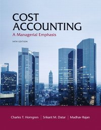 Cost Accounting (inbunden)