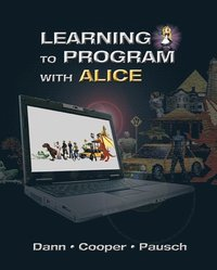Learning to Program with Alice 3rd Edition Book/CD Package (h�ftad)