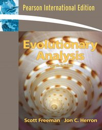 Evolutionary Analysis (h�ftad)