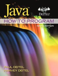 Java How to Program (early objects) United States Edition 9th Edition