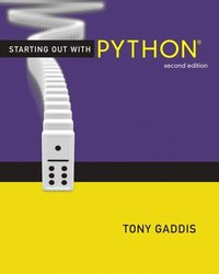 Starting Out With Python 2nd Edition