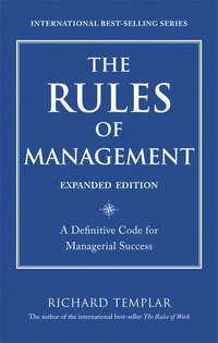 The Rules of Management, Expanded Edition (h�ftad)