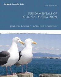 Fundamentals of Clinical Supervision (inbunden)