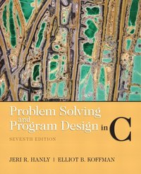 Problem Solving and Program Design in C (h�ftad)
