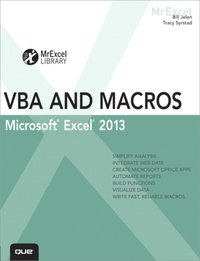 Excel 2013 VBA and Macros (e-bok)