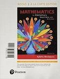Mathematics for Elementary Teachers with Activities, Loose-Leaf Version Plus Mymathlab -- Access Card Package